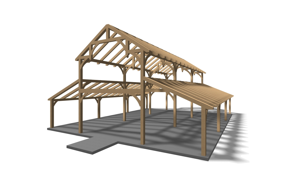 Timberframe plans house plans A frame barn plans
