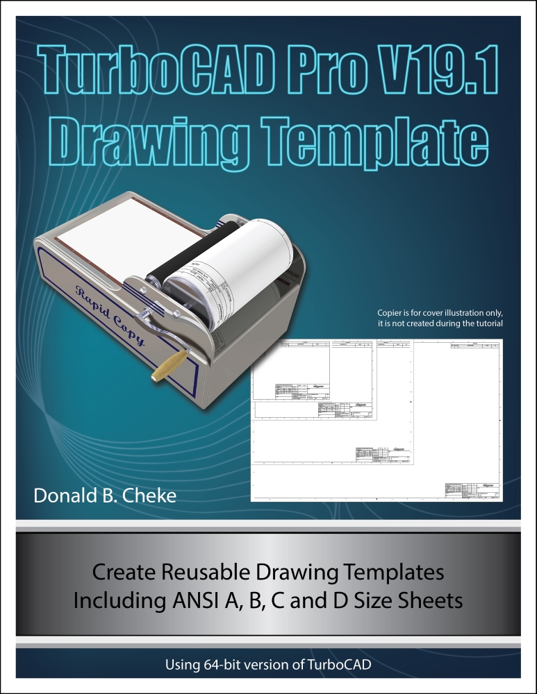 turbocad drawing template - new turbocad pro v19 1 tutorial textual creations news